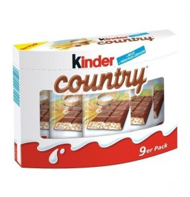 Kinder country 9ks