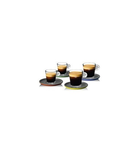 Nespresso Glass Lungo & Espresso šálky