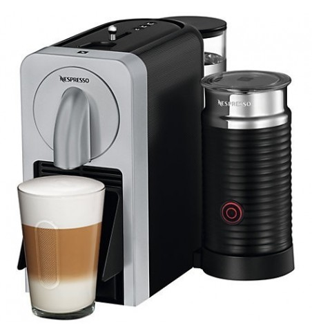 Nespresso Prodigio Silver & Milk