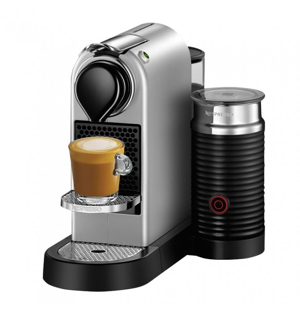 Nespresso DeLonghi Citiz & Milk strieborné