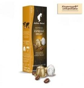 Julius Meinl Espresso bez kofeínu pre Nespresso